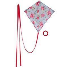 Cath Kidston | Box Kite (on Retro to Go): I'd play with this kite