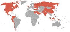 - Countries with Papa Johns Pizza.
