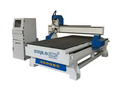 4x8ft wood cnc router for sale have the whole thick square welded tube frame with high- temperature artificial aging treatment to ensure strong , durable , without any deformation .