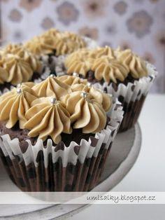U mlsalky: Kávové cupcakes Cheesecakes, Deserts, Food And Drink, Breakfast, Fotografia, Morning Coffee, Cheesecake, Postres, Dessert