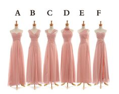 Cheap Light Pink Aline by SpcialDresses on Etsy, $159.99