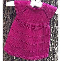 Wee Susan Dress is a classic with sweet lace touches.Top down construction and a full skirt with a little simple lace. Yarn weightDK / 8 ply (11 wpi) ? Gauge22 stitches = 4 inchesNeedle sizeUS 5 - 3.75 mmYardage300 yards (274 m)Sizes available0-3 months