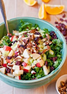 Powerhouse Bulgur Salad with Balsamic Orange Vinaigrette #healthy #salad #recipe