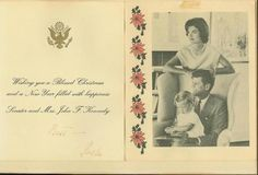 The Kennedy's Christmas card