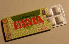 chewing-gum de mastica, fait à partir de sève de lentisque de l'île de Chios IGP