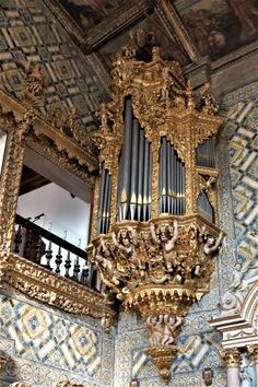 Órgão histórico da Igreja do Salvador Salvador, Tower, Study, Places, Art, Savior, Rook, Computer Case, El Salvador