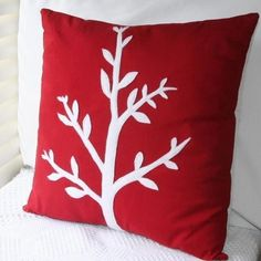 So red #cushion