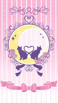 Kawaii Wallpaper, Cute Wallpaper Backgrounds, Cartoon Wallpaper, Cute Wallpapers, Sailor Moon Birthday, Arte Sailor Moon, Sailor Moon Background, Sailor Moon Wallpaper, Cellphone Wallpaper