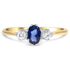18K White Gold, 18K Yellow Gold The Eastham Ring from Brilliant Earth