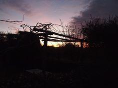 Aia al tramonto
