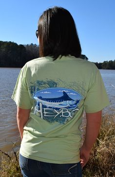 76681b088dca6 Heybo White Marlin T-shirt - Green from Chocolate Shoe Boutique