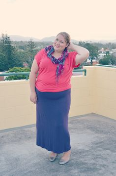 Aussie Curves: Purple {She Wore What}
