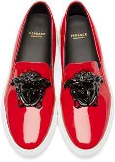 Versace Versace Jeans, Versace Sneakers, Versace Shoes, Balenciaga Shoes, Sneakers N Stuff, Best Sneakers, Slip On Sneakers, Sneakers Sale, Yeezy Sneakers