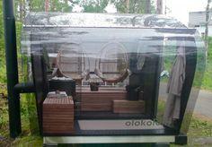 Kuvagalleria Olokolo sauna - Lappeenrannan loma-asuntomessut 2012 - Olokolo #sauna