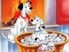 Dessins animés Les 101 Dalmatiens