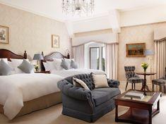 Adare Manor Adare, Co. Limerick Ireland, Limerick City, Adare Manor, Hotel Interiors, Hotel Reviews, Trip Advisor, Luxury, Bed, Furniture
