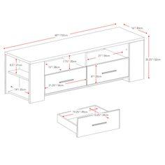 "dCOR design Bromley 60"" TV Stand | AllModern"