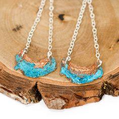 Blue Moon Earrings by Nancy Nelson