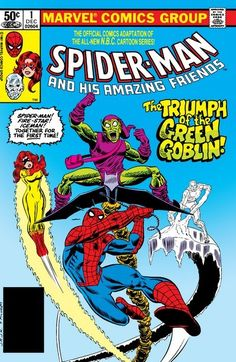 Spider-Man and His Amazing Friends n°1 (1981) #spiderman #greengoblins #marvel #comics #marvelclassic