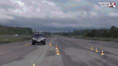 Jeep handling test. Sexy