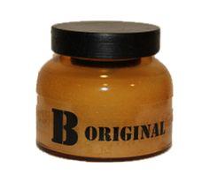 "Vela aromática en frasco cristal ""B original"""