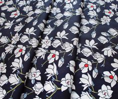 Art Gallery Fabrics Charleston Magnolia Nightfall