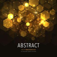 Fundo geométrico de resplendor abstrato
