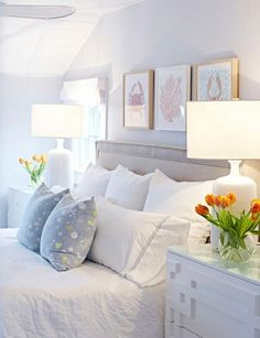 Beach Coastal Style Bedroom Decor Ideas