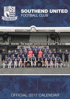 Southend United FC A3 Calendar 2017