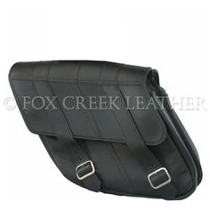 Dyna Low Rider Saddle Bags | $426.00 | Fox Creek Leather Carries Only The Highest Quality, Made in USA Leather Motorcycle Jackets, Products, Clothing Leather Goods.