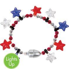 Patriotic Pride Light Up Bracelet - Party City