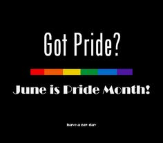 happy pride month! :D