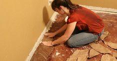 Brown Paper Bag Flooring - How to Paper Bag Flooring, Diy Flooring, Elmer's Glue, Diy Organization, Decorating Tips, Home Goods, Diy And Crafts, Sweet Home, The Incredibles