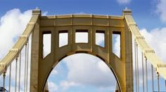 Stock Footage   A time lapse view of the top of the Roberto Clemente Bridge over the Allegheny River in Pittsburgh, PA.   Download VidLib on the iOS OSX and Windows Phone App Stores
