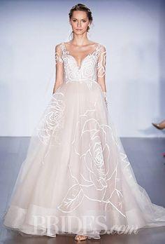 Jim Hjelm Wedding Dresses Fall 2015 Bridal Runway Shows Brides.com   Wedding Dresses Style   Brides.com