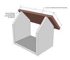 Ana White   Kids Kit Project: $2 Cedar Birdfeeder - DIY Projects