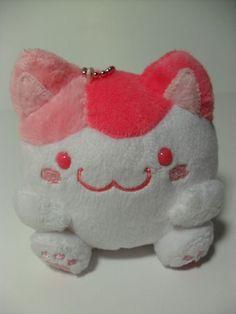 Maruneko Club Sakura Pink Calico Cat 9cm Plush from KAWAII PLUSh LOVE