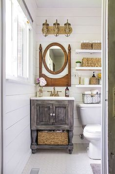 Small Master Bathroom Makeover on a Budget - small master bathroom budget makeover, bathroom ideas, diy, home improvement Best Picture For diy - Bathroom Makeovers On A Budget, Budget Bathroom, Bathroom Remodeling, Remodeling Ideas, Remodel Bathroom, Shower Remodel, Cheap Bathroom Makeover, Mirror Makeover, Cabinet Makeover