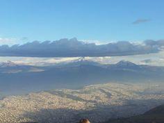 Vista del #Cotopaxi desde el Teleférico #Quito - #Ecuador (Julio 2012)