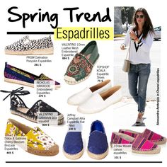 """""""Spring Trend-Espadrilles"""" by kusja on Polyvore"""