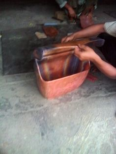 bags of copper handicraft