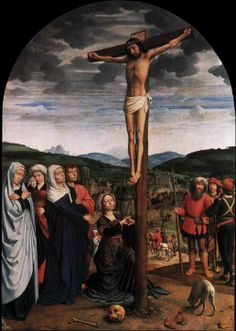 DAVID, Gerard Crucifixion c. 1515 Oil on oak, 141 x 100 cm Staatliche Museen, Berlin