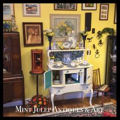 This buffet is just one of our FABULOUS reclaimed/refurbished/refinished pieces!  #furniturescape Mint Julep Antiques & Art  47 E. Queens Way  Hampton, VA 23669