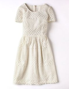 pretty eyelet dress