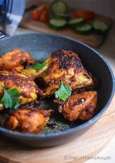 Dapur Mama Aisyah: Ayam Panggang Pedas