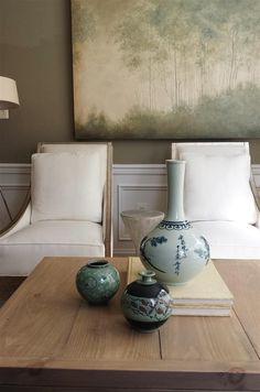Lauren Liess | Pure Style Home - loving that neutral palette.  Not boring. Very peaceful.