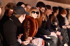 VOGUE NEWS&TRENDS 14.3.2016...Vogue's Anna Wintour on Paris Fashion Week Check my Blog HXSTYLE.wordpress...See U. SMILE