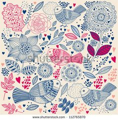 Floral Vector Stock Photos, Images, & Pictures | Shutterstock