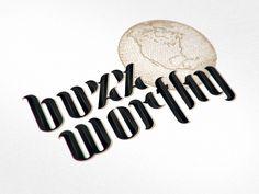 Buzz Lettering by Joe White