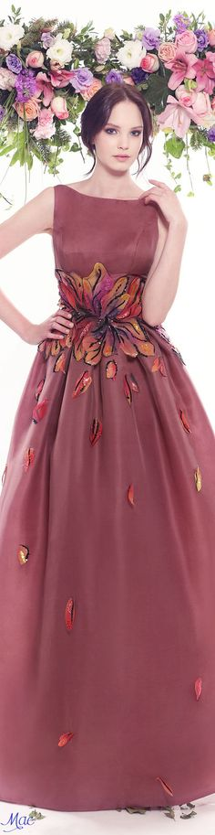 Spring 2016 Haute Couture Fadwa Baalbaki ✿⊱╮